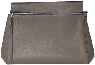 Celine Edge Anthracite Leather Handbags
