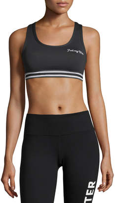 Spiritual Gangster Warrior Athletic Performance Sports Bra