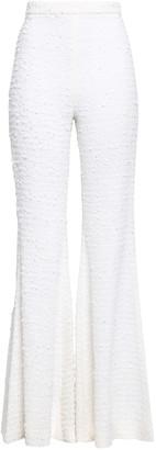 Balmain Boucle-tweed Flared Pants