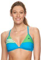 adidas Women's Colorblock Bikini Top
