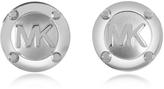 Michael Kors Heritage Logo Stud Earrings
