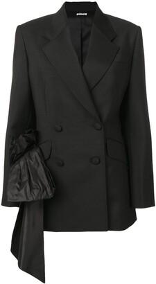 Miu Miu draped detail blazer