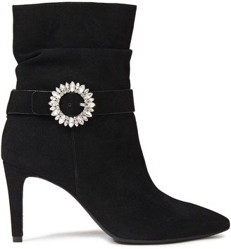 MICHAEL Michael Kors Embellished Suede Ankle Boots