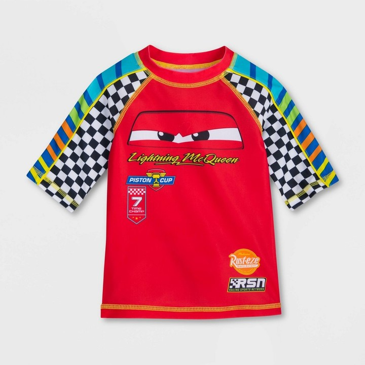 Disney Lightning McQueen Woven Shirt for Boys Black