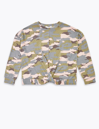 Marks and Spencer Camouflage Sweatshirt (6-16 Years)