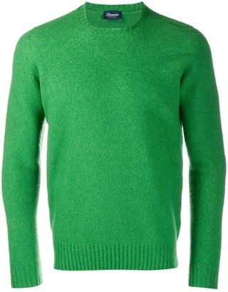 Drumohr slim-fit wool sweater