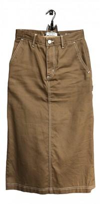 Carhartt Wip Brown Cotton Skirt for Women