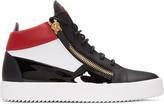 Giuseppe Zanotti Tricolor London High-top Sneakers