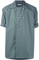 Aganovich - double-breasted shirt - men - Cotton - 48