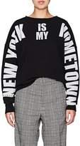 "Faith Connexion Women's ""New York"" Cotton Sweatshirt"
