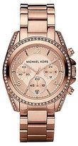 Michael Kors Blair Stone-Detail Chronograph Sport Watch