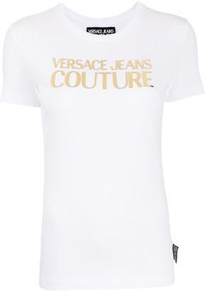 Versace metallic logo T-shirt