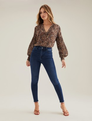 Ever New Zoe Mid Rise Ankle Grazer Jean