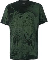 Marcelo Burlon County of Milan graphic leopard print T-shirt - men - Cotton - L