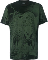 Marcelo Burlon County of Milan graphic leopard print T-shirt - men - Cotton - S
