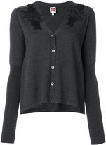 I'M Isola Marras classic fitted cardigan - women - Virgin Wool - M