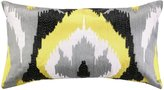 Nanette Lepore Ikat Embroidered Pillow