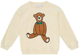 Mini Rodini Teddy Bear cotton terry sweater