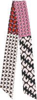 Odeeh contrast print scarf