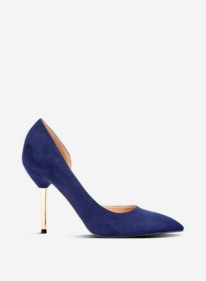 Dorothy Perkins Womens Navy 'Dessie' Court Shoes