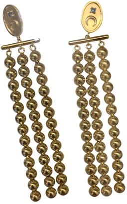 Wanderlust Gold Metal Earrings