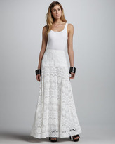 Alexis Najila Lace/Crochet Maxi Skirt
