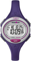 Timex Womens Ironman 30 Lap Purple Silicone Strap Digital Watch