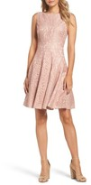 Eliza J Women's Lace Fit & Flare Dress