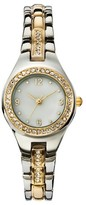 Merona Women's Analog Watch with Two-Tone Metals - Silver & Gold