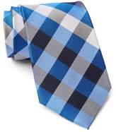 Tommy Hilfiger Silk Multi Sized Gingham XL Tie