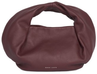 Danse Lente Mini Lola Leather Baguette Bag
