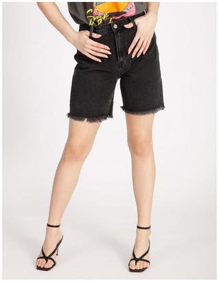 Missguided Longer Length Denim Shorts