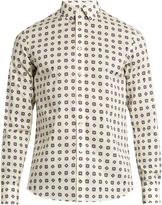 Alexander McQueen Foulard-print cotton shirt
