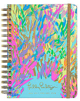 Lilly Pulitzer Sparkling Sands 2017-2018 Large Agenda