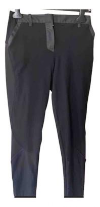 Louis Vuitton Black Cloth Trousers