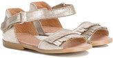 Pépé Kids - fringed sandals - kids - Leather/rubber - 22