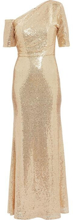 Thumbnail for your product : Gina Bacconi Erin Sequin Maxi Dress
