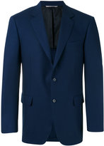 Canali two button blazer - men - Cupro/Wool - 48