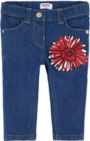 Moschino Girl slim fit jeans