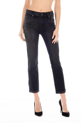Fidelity Cher Crop Straight Leg Jeans