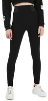 Topshop Women's Textured High Waist Ponte Leggings