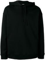 Raf Simons rear print hoodie