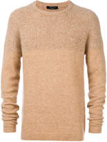 Roberto Collina knit panel jumper