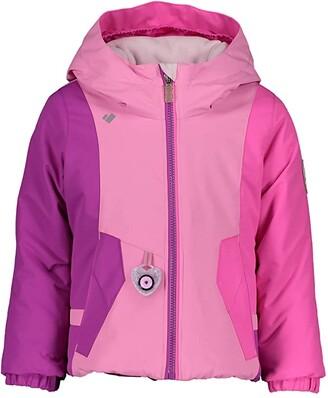 Obermeyer Iris Jacket (Toddler/Little Kids/Big Kids) (Pink Powder) Girl's Jacket