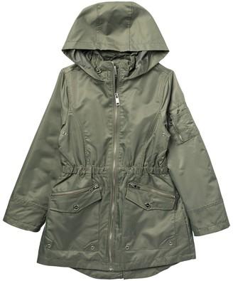 Urban Republic Hooded Wind Resistant Anorak Jacket (Big Girls)