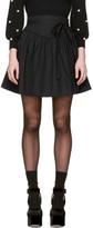 Marc Jacobs - Mini-jupe noire Waist T
