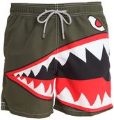 MC2 Saint Barth Barbados Shark Micro Fiber Swim Shorts