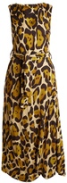 Vivienne Westwood Vasari leopard-print draped dress