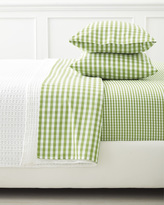 Serena & Lily Extra Gingham Pillowcases (Set of 2) - Grass