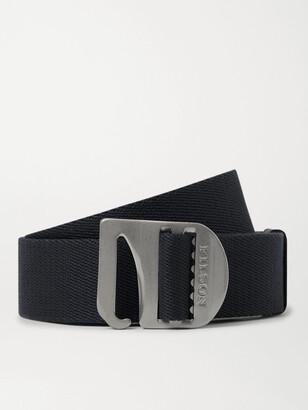 Filson Tan Togiak 4cm Leather-Trimmed Webbing Belt